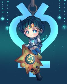 twinkley dolly sailor mercury by Invader-celes.deviantart.com on @DeviantArt