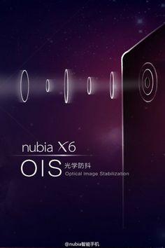 ZTE Nubia X6 7천5백만 화소 카메라 탑재?모바노