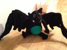 """Crochet """"Vamperl"""" bat"""