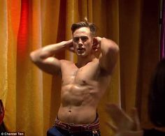 """Matt Wilson stars as middle bro Aaron Brennan, and surprises all by stripping on tv's """"Neighbours."""