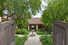 A Gracious Hacienda    Lompoc, California
