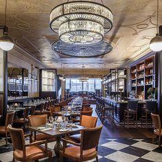 The George, Edinburgh: New Restaurant and Coffee Shop by Goddard Littlefair