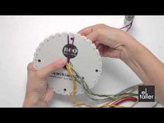 Video tutorial de la técnica de Kumihimo para bisutería. www.eltalleronline.com