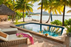 Summer, Summer time, Sea, St. Regis Bora Bora Pool