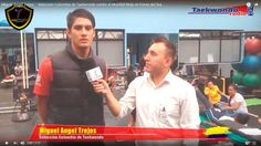 Miguel Ángel Trejos – Selección Colombia de Taekwondo rumbo al Mundial Muju en Corea del Sur.