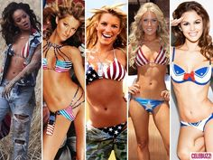 Top 32 Celebs Sexiest and Skimpiest Bikinis