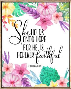 Bible Verses Bible Quotes nursery wall art Bible Verse Wall Art Quotes Bible She holds onto hope Scripture art 1 corinthians Hope Scripture, Bible Verse Wall Art, Faith Bible, Wall Art Quotes, Bible Verses Quotes, Bible Art, Bible Scriptures, Nursery Quotes, Bible Quotes For Women