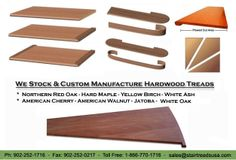 Stair Treads USA - Suppliers Of Hardwood Stair Treads, False Stair Treads, Etc.
