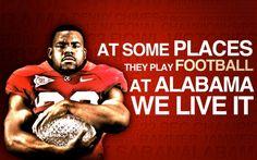 Yes mark Ingram! Alabama Football Baby, Crimson Tide Football, Alabama Crimson Tide, Football Football, Football Quotes, Nick Saban, Thing 1, University Of Alabama, Roll Tide
