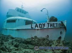 The Lady Thetis Wreck sits in a big sand bank so be careful not to kick up the silt  http://scubatechdivers.com/Wrecks-in-cyprus.html
