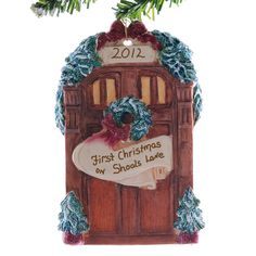 Personalized front door ornament  new home by Christmaskeeper, $14.95