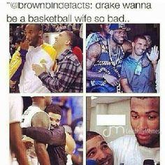 Lol #terrible y'all leave #Drake alone! Lol #BasketballWife #DrakeHumor #DrakeMeme #Meme #FunnyMeme #Humor #Funny #CelebrityHumor #Terrible #HaHaHa ! HaHaHaHa