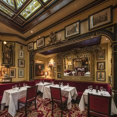 Rules Restaurant, London's Covent Garden. Established 1798. Credit: Tony Murray Photography