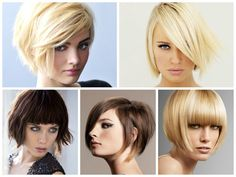 Inverted Bob with Bangs Hairstyles