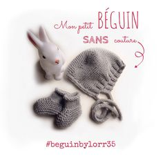béguin : Tous les messages sur béguin - DIY By Bonnet Crochet, Crochet Beanie, Diy Crochet, Knitting For Kids, Baby Knitting, Tricot Baby, Fun Baby Announcement, Knit Mittens, Baby Crafts