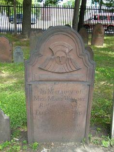 Soul effigy carving Springfield Cemetery Springfield, Massachusetts