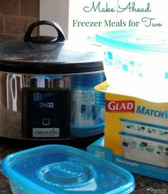 Make Ahead Freezer Meals for Two - Freezer Cooking #SaveItSunday #FoodFairyTale #ad
