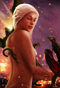 Daenerys Targaryen - Game of Thrones - HarriOsborn
