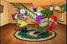 """Which """"Courage The Cowardly Dog"""" Villain Are You"""