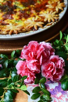 Welcome Spring with this Spring Greens Quiche, containing asparagus, leeks, fennel, gouda, and queso fresco; it's light, airy, and full of healthy greens.