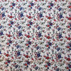 LIBERTY Of LONDON Poplin Cotton Fabric  'Floribunda' von spotweldon, $14.99