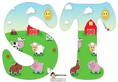 Carson Dellosa Education Farm Shape Stickers - Perfect For Reward Or Recognition, Each Pack Of These Acid-free And Lignin-free Includes 72 Stickers! Available In A Wide Variety Colors Shapes, Are An Essential Addition To Any Teacher& Desk! Alfabeto Animal, Hickory Dickory Dock, Farm Unit, Carson Dellosa, Farm Birthday, Farm Party, Farm Theme, Paint Shop, Kids Songs