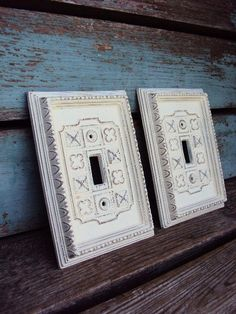 Vintage French Chic Light Switch Cover by primitivepincushion