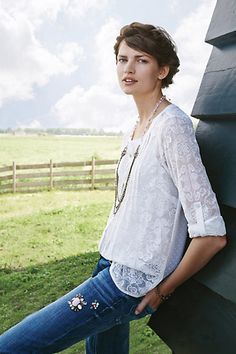 Willow Garden Buttondown #anthropologie