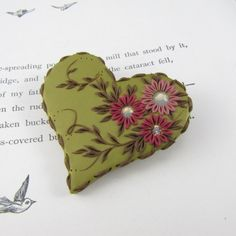 Sweet Jane Heart Brooch | Flickr - Photo Sharing!
