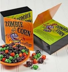 """Now through 10/31/13 at The Popcorn Factory, you can get a festive Zombie Corn Popcorn Card for only $5 with FREE shipping when you use the code SAMPLE at checkout! This would make a nice """"treat"""" for yourself, as well as a great handout for a Halloween..."""