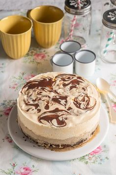 Chesee Cake, Cupcake Cakes, Cheesecake Cake, Cheesecake Recipes, Extreme Food, Choco Chocolate, Fancy Desserts, French Pastries, Mocca