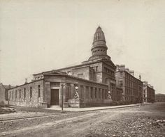 Queens Park UP Church. Destroyed by incendiary bomb, Glasgow Architecture, Amazing Architecture, Neoclassical, 19th Century, Taj Mahal, Scotland, Greek, Park, History