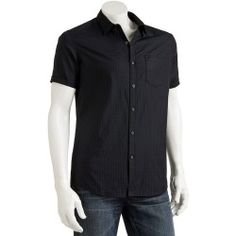 Marc Anthony Textured Casual Button-Down Shirt - Big & Tall - product - Product Review