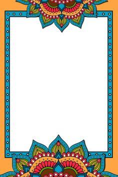 School Binder Covers, School Frame, Flower Frame, Islamic Art, Appreciation, Kittens, Backgrounds, Symbols, Invitations