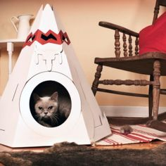 Awesome Indian teepee for your animal!