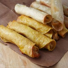 ... Taquitos on Pinterest | Chicken taquitos, Baked chicken and Taquitos