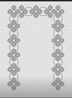 Filet Crochet, Hgtv, Embroidery Designs, Needlework, Diy And Crafts, Cross Stitch, Palestine, Charts, Cross Stitch Designs