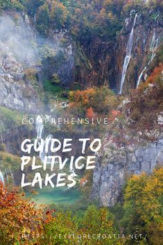 Comprehensive Guode to the world famous Plitvice Lakes National Park, Croatia. Best Countries In Europe, Plitvice Lakes National Park, World Famous, Circuits, Croatia, National Parks, Places To Visit, Coast, Explore