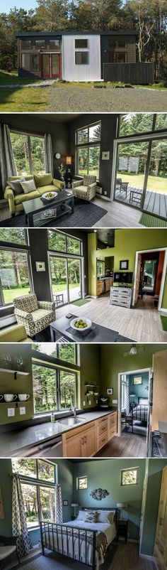 The Northwest prefab home from IdeaBox (540 sq ft)