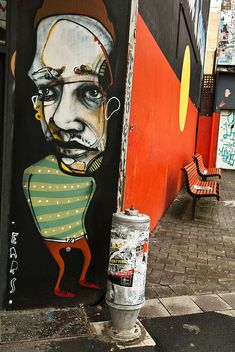 Beyond Banksy Project / Ears - Newtown