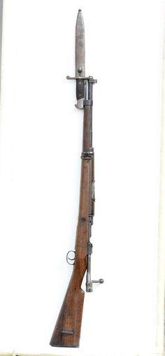 Spanish Mauser model 1916 with bayonet - Feb 2017