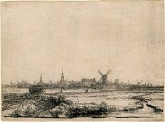 Almost 500 Rembrandt Etchings Now Online [slideshow] #Rembrandt #online #art