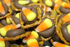 Halloween Sweet & Salty Bites