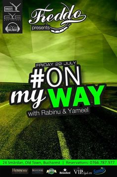 TONIGHT!!! 22:30, #ONmyWAY with Dj. RABINU & Dj. YAMEEL at Freddo Bar & Lounge