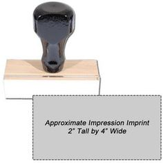 #Regular #Rubber #Stamp Size 2 x 4. Purchase a regular hand rubber stamp online from Acorn Sales. It is the most economical choice. Add text or artwork. Customize yours today!