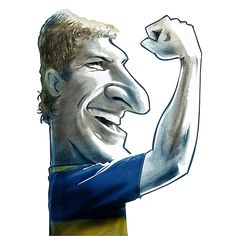 palermo- caricatura Martin Palermo, Ronaldo, Caricatures, Jr, Stickers, Tatoo, Drawings, Frames, World