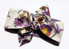 Beidseitiges Haarband Rockabilly von Maiblume - fiore di maggio auf DaWanda.com