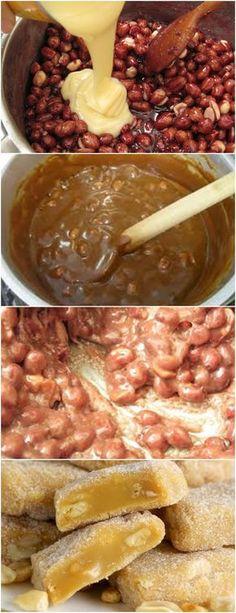 PÉ-DE-MOÇA COM LEITE CONDENSADO,FICA SUPER MOLINHO!! VEJA AQUI>>>Quando o açúcar derreter e virar caramelo, acrescente o leite moça e continue mexendo por mais 3 minutos em fogo alto Unte um refratário com manteiga e jogue a massa #receita#bolo#torta#doce#sobremesa#aniversario#pudim#mousse#pave#Cheesecake#chocolate#confeitaria