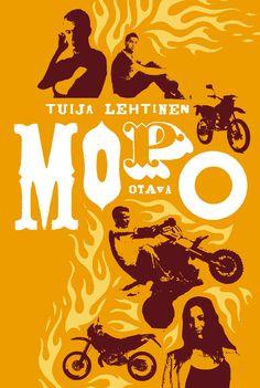 Title: Mopo   Author: Tuija Lehtinen Orange, Cover, Movie Posters, Art, Art Background, Film Poster, Kunst, Performing Arts, Billboard