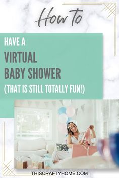 Need virtual baby shower ideas? This post all about how to host a virtual baby shower is for you! Whether you are hosting a virtual baby shower on facebook or zoom this post has great ideas for games, invitations and more! Click for more! Good Parenting, Parenting Hacks, Virtual Baby Shower, Have A Shower, Second Baby, Breastfeeding Tips, Party Packs, Having A Baby, Shower Party